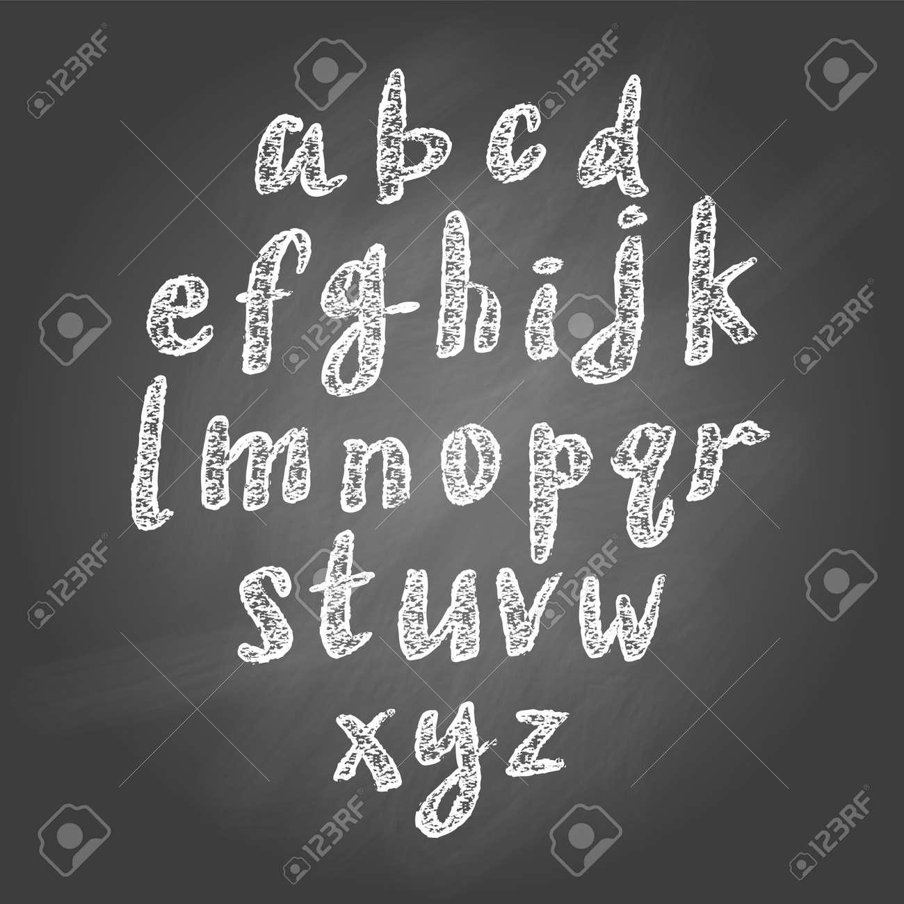 チョークのベクトル イラスト スケッチ黒板背景に文字のイラスト素材
