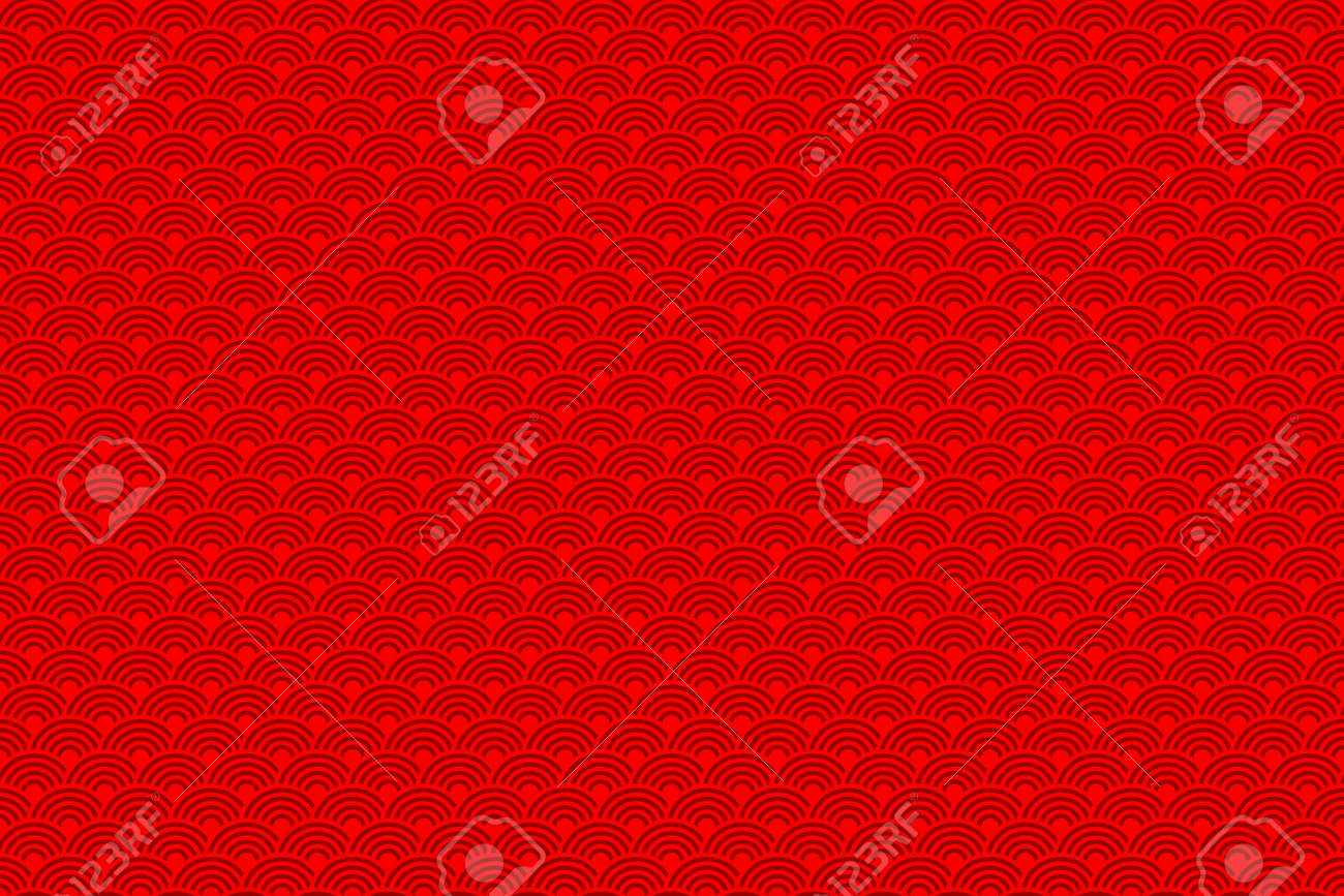 Chinese Seamless Pattern Chinese New Year 2016 Bright Beautiful