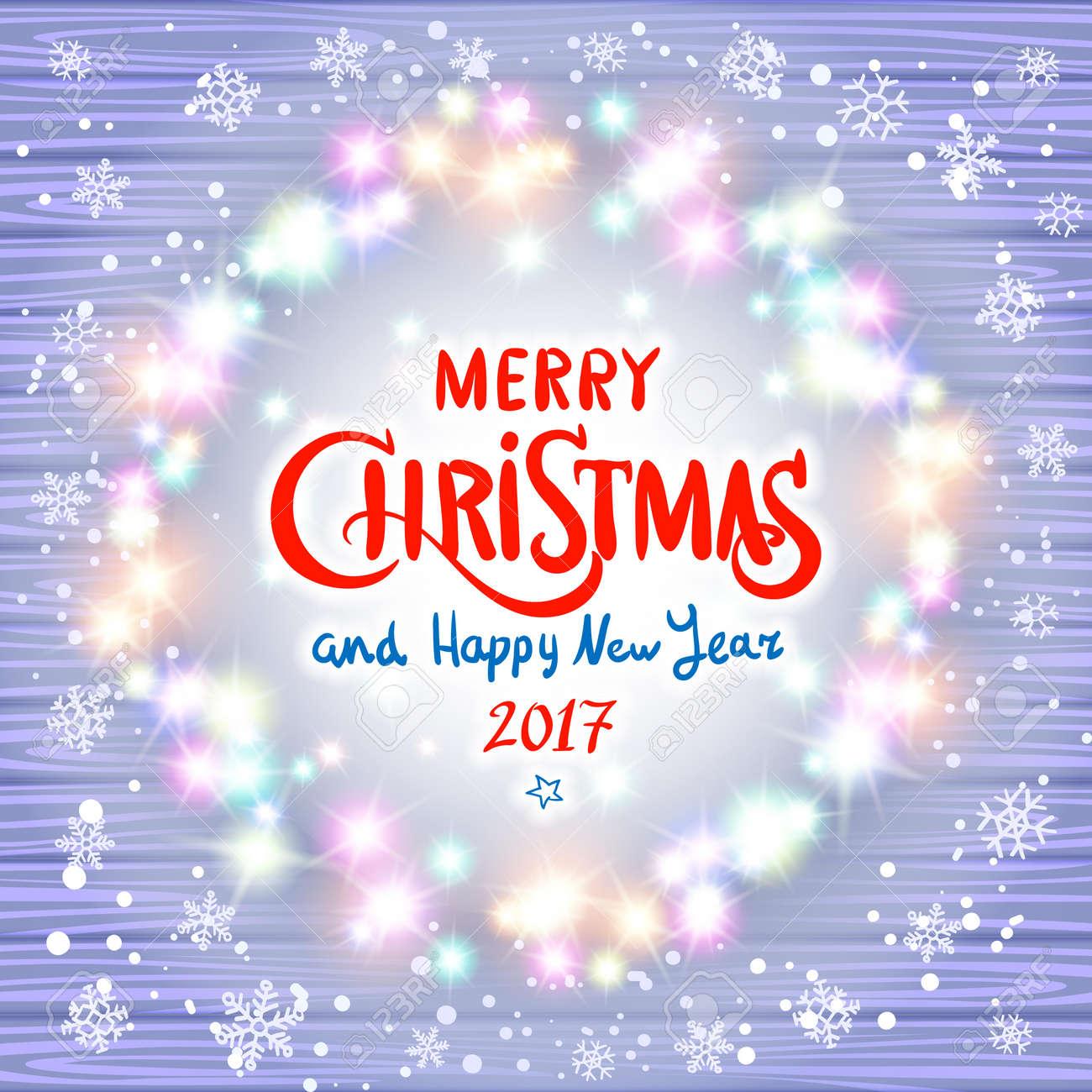 Led Frohe Weihnachten.Stock Photo