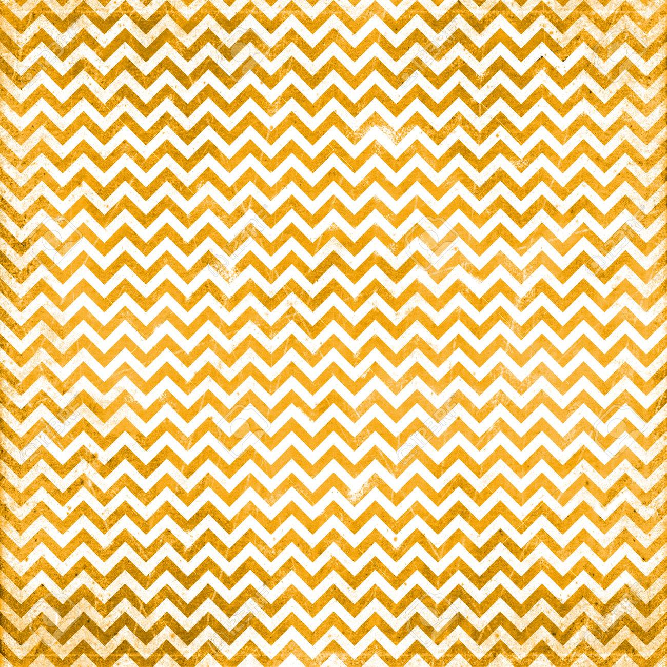 orange chevron pattern Stock Photo - 23127324