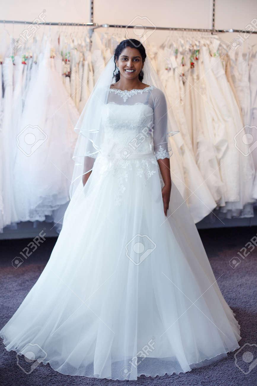 bride white wedding gowns india