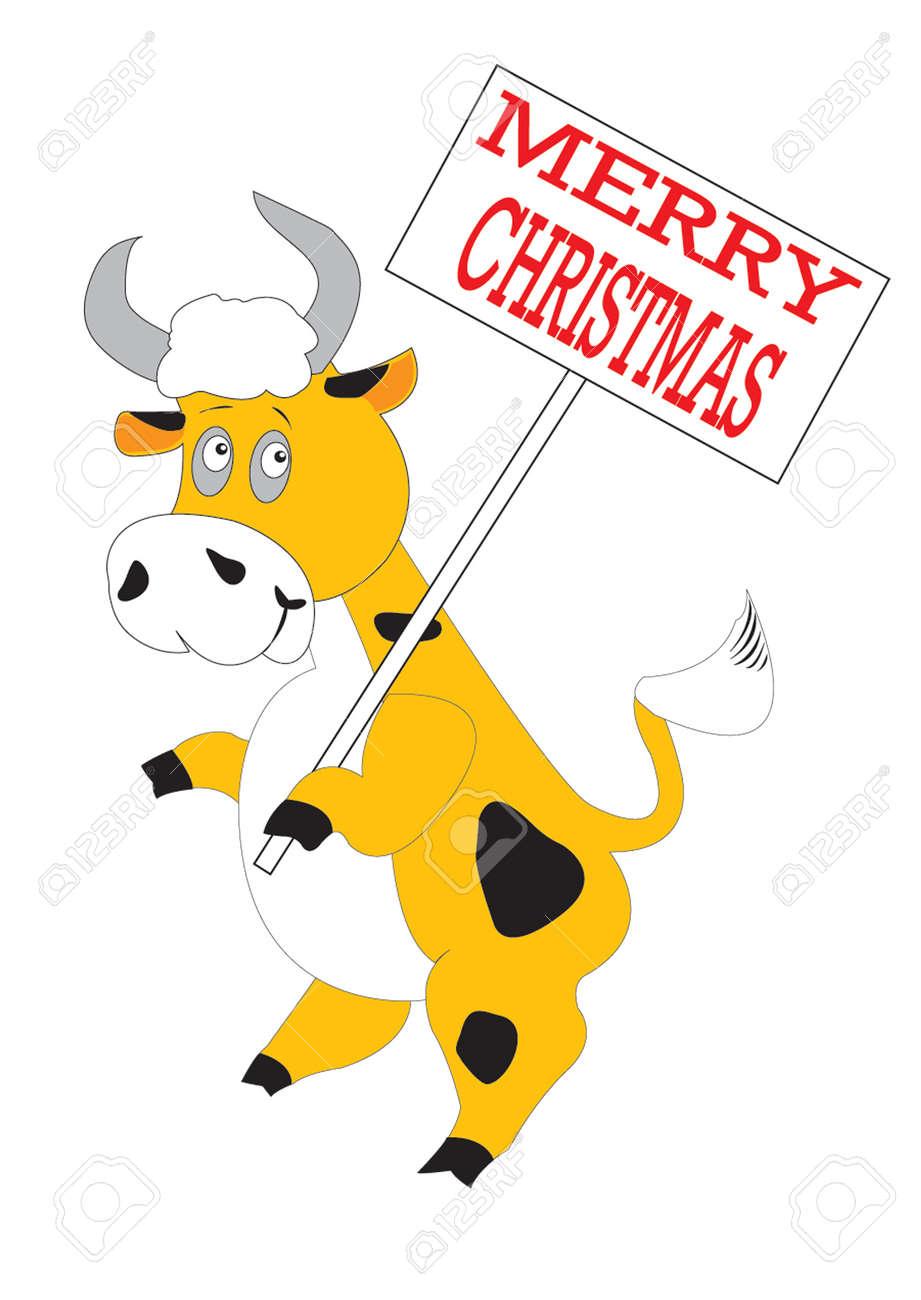 Orange bull Stock Vector - 3960803