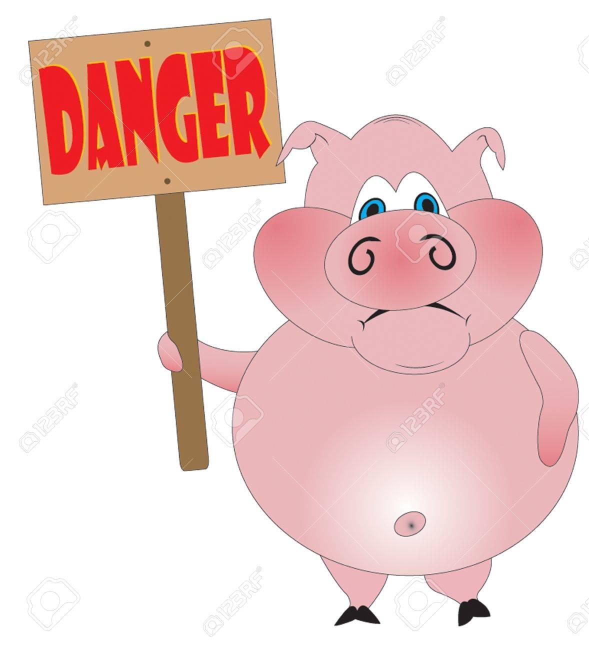 Swine Flu Stock Vector - 4811733