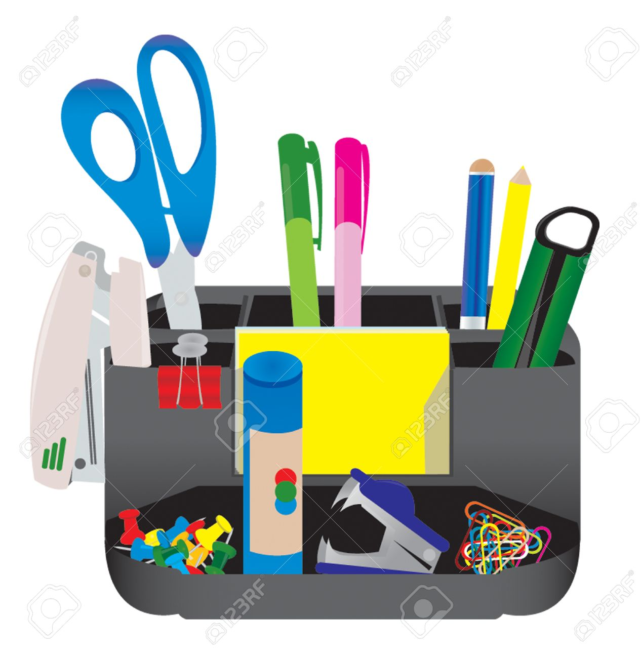 Office tools Stock Vector - 4882401