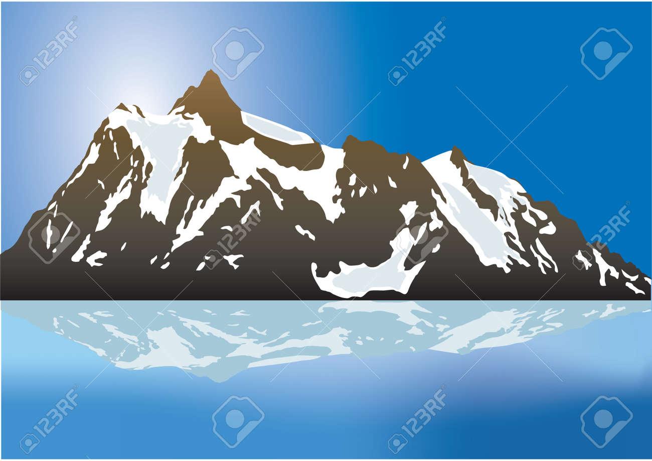 Mountains Stock Vector - 6011043