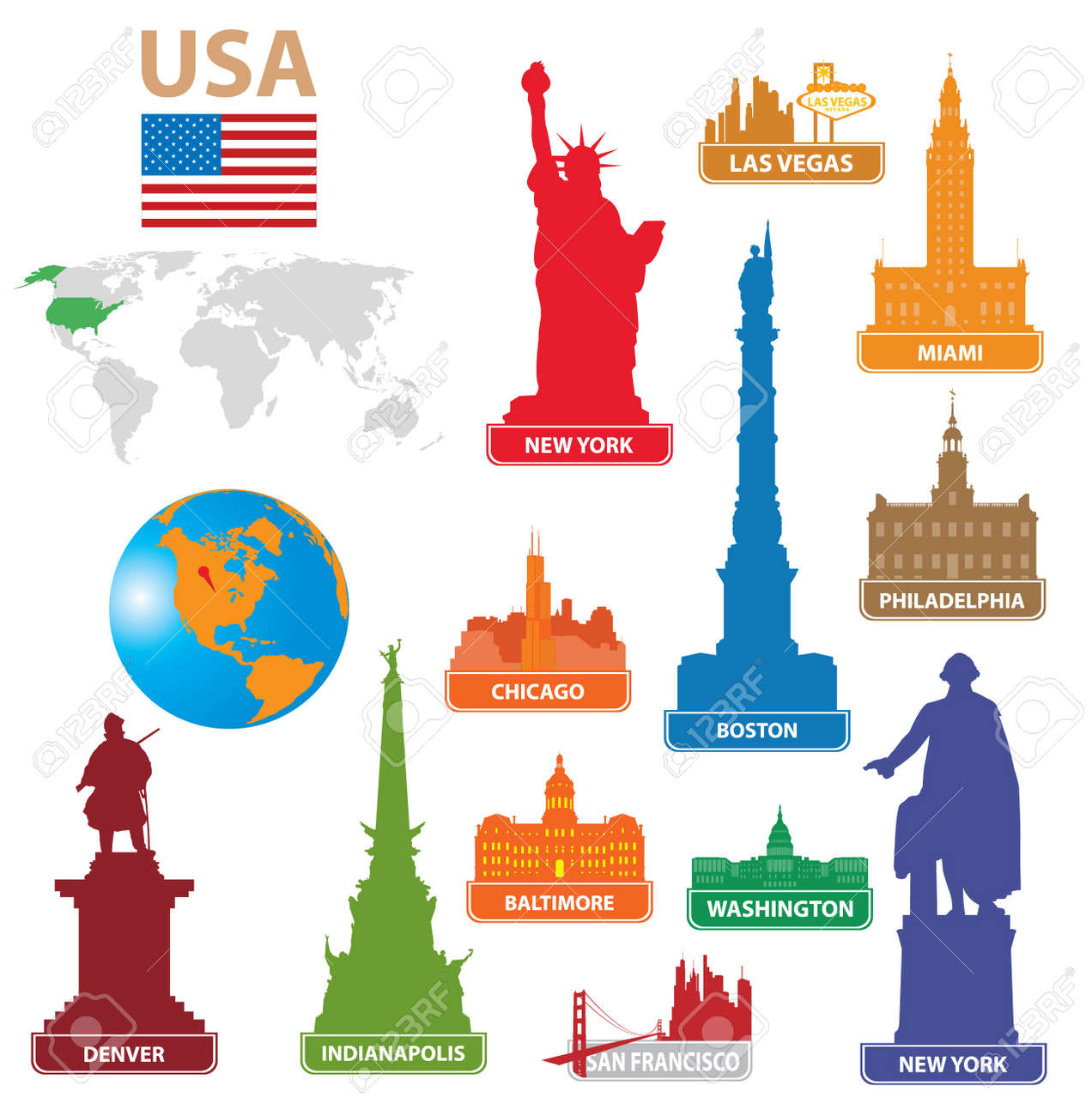 Chicago Map Images  Stock Pictures Royalty Free Chicago Map - Chicago map new york