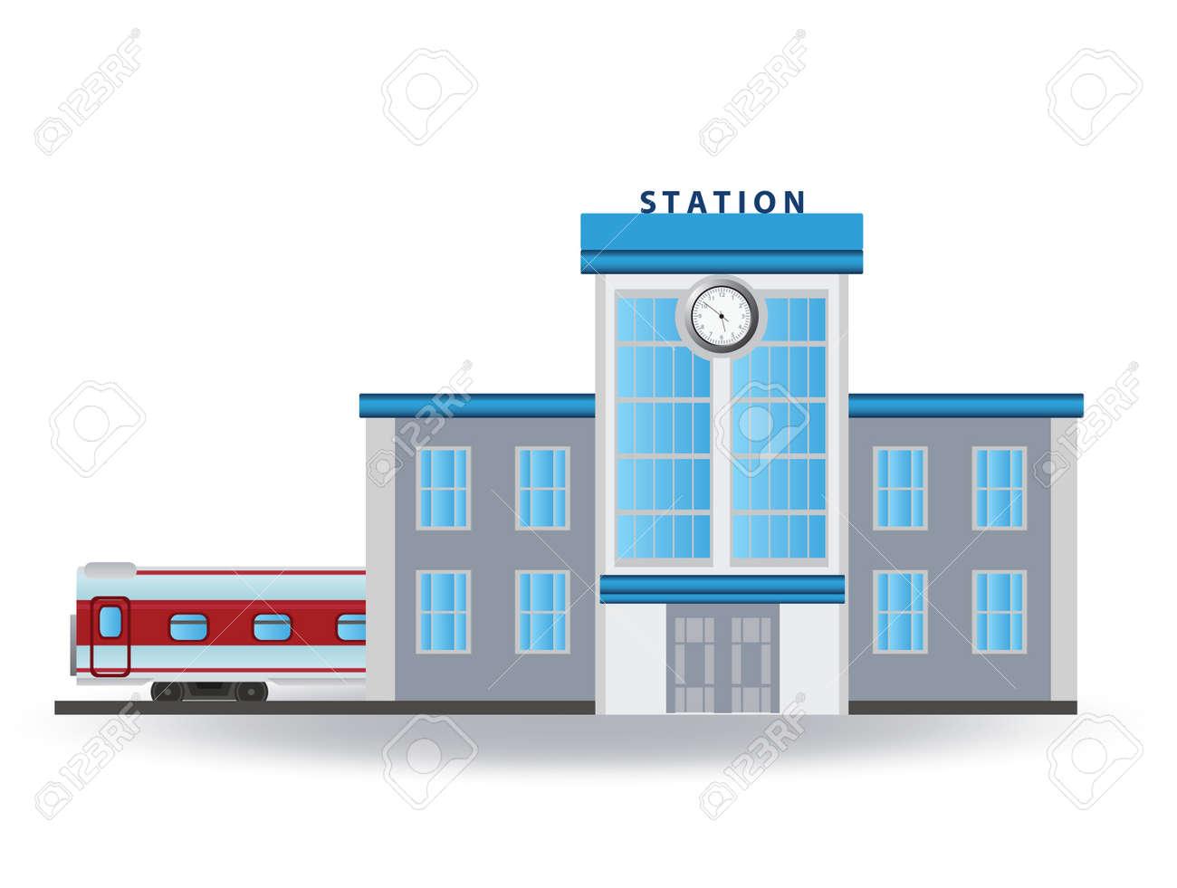 駅 夜 クリップ・アート | www.wagaimeji