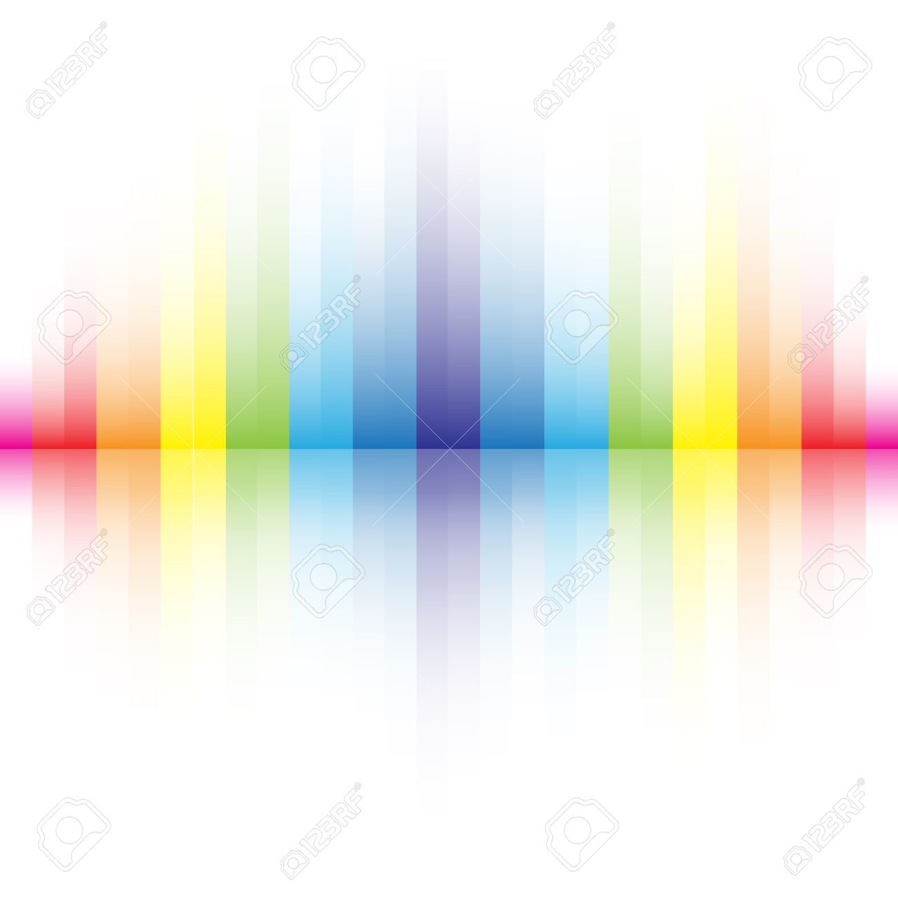 abstract rainbow colors background stock vector 8826295 - Rainbow Color