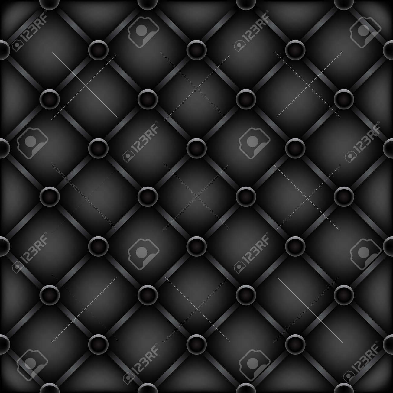 Black leather chair texture - Vector Black Leather Furniture Texture