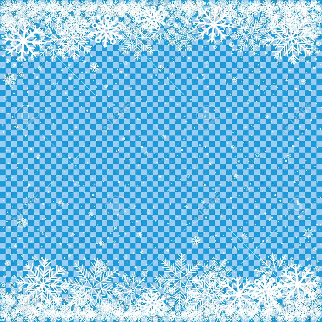 Weihnachten Und Winter Clipart Der Fallende Weiße Schnee Auf
