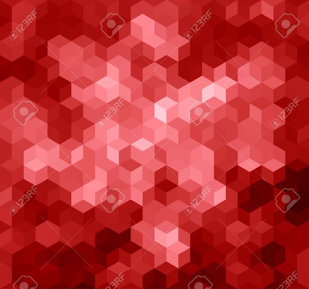Red Triangle Abstract Background Vector Pattern Of Geometric