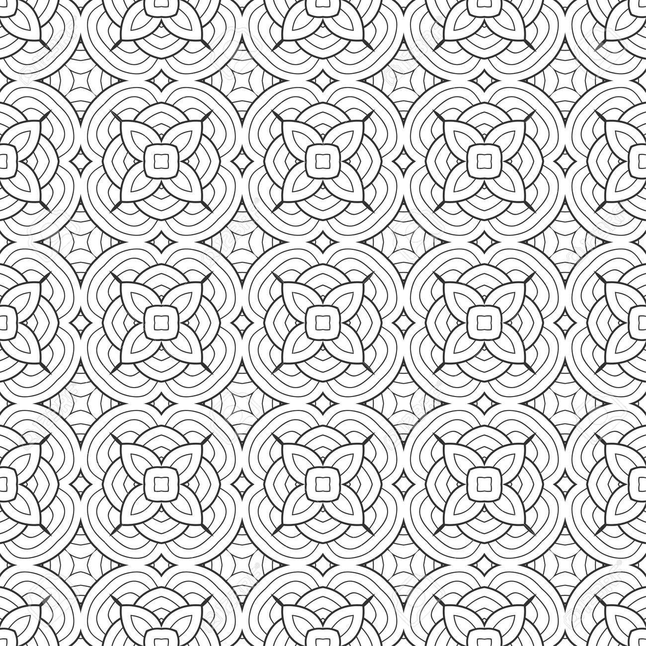 Wallpaper Retro Black And White