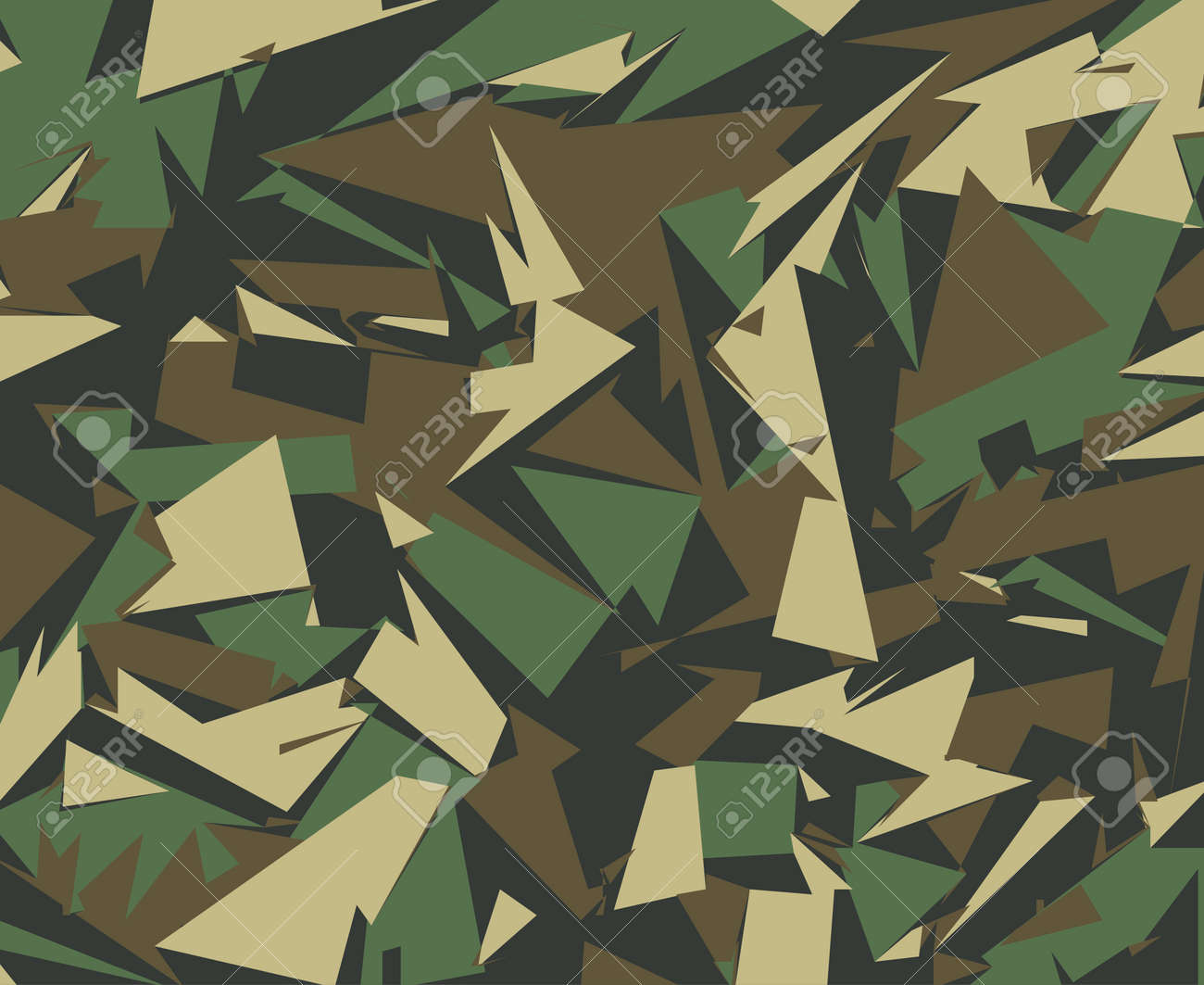 abstract vector military camouflage background camo pattern