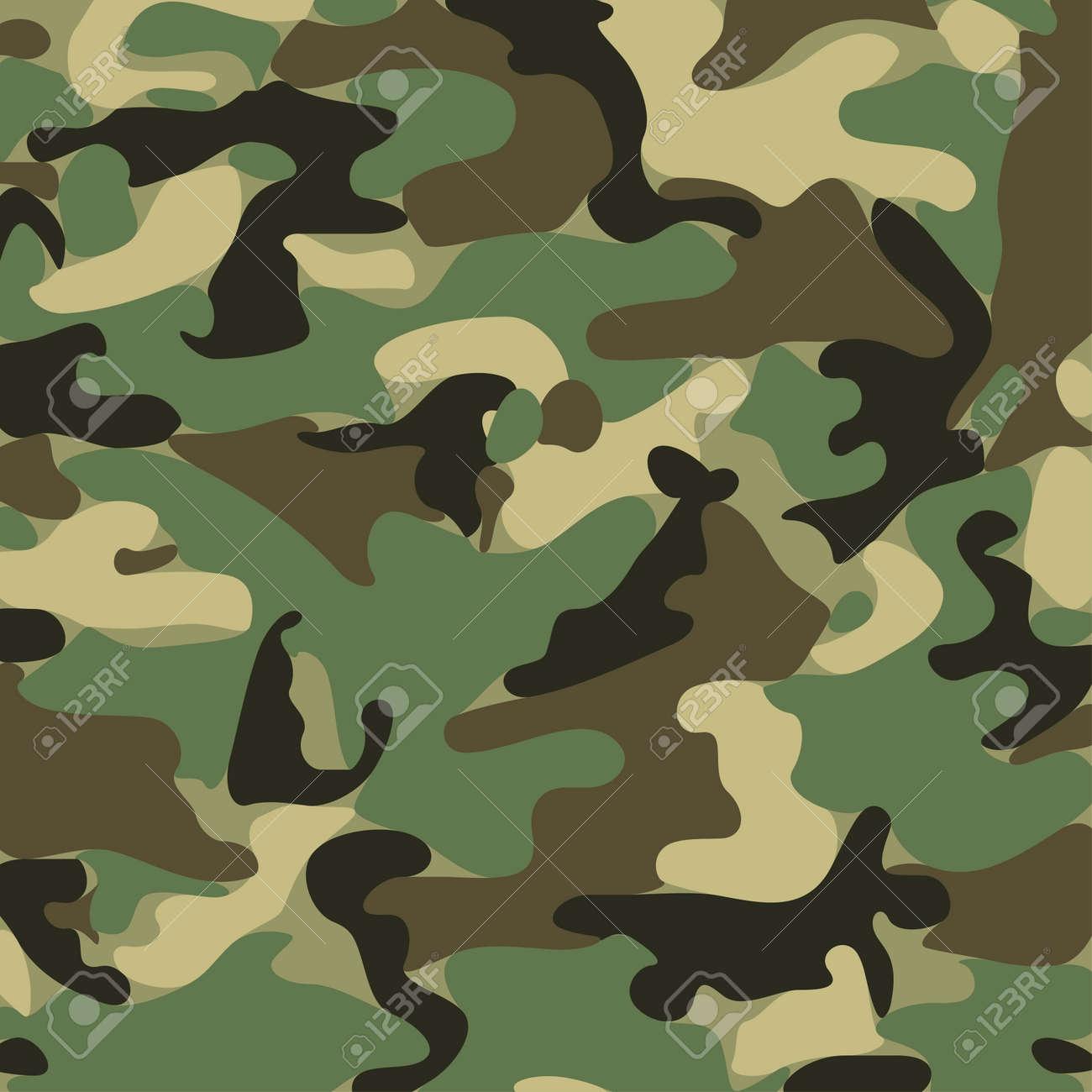 Army Camo Pattern Custom Inspiration Design