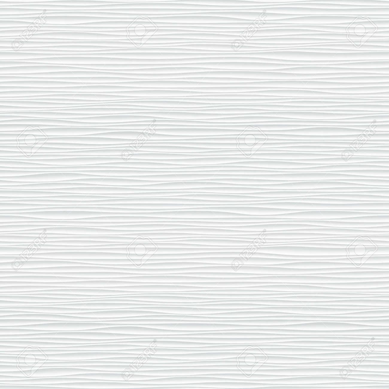Textura Blanca Sin Costuras Fondo Ondulado Decoración De La Pared
