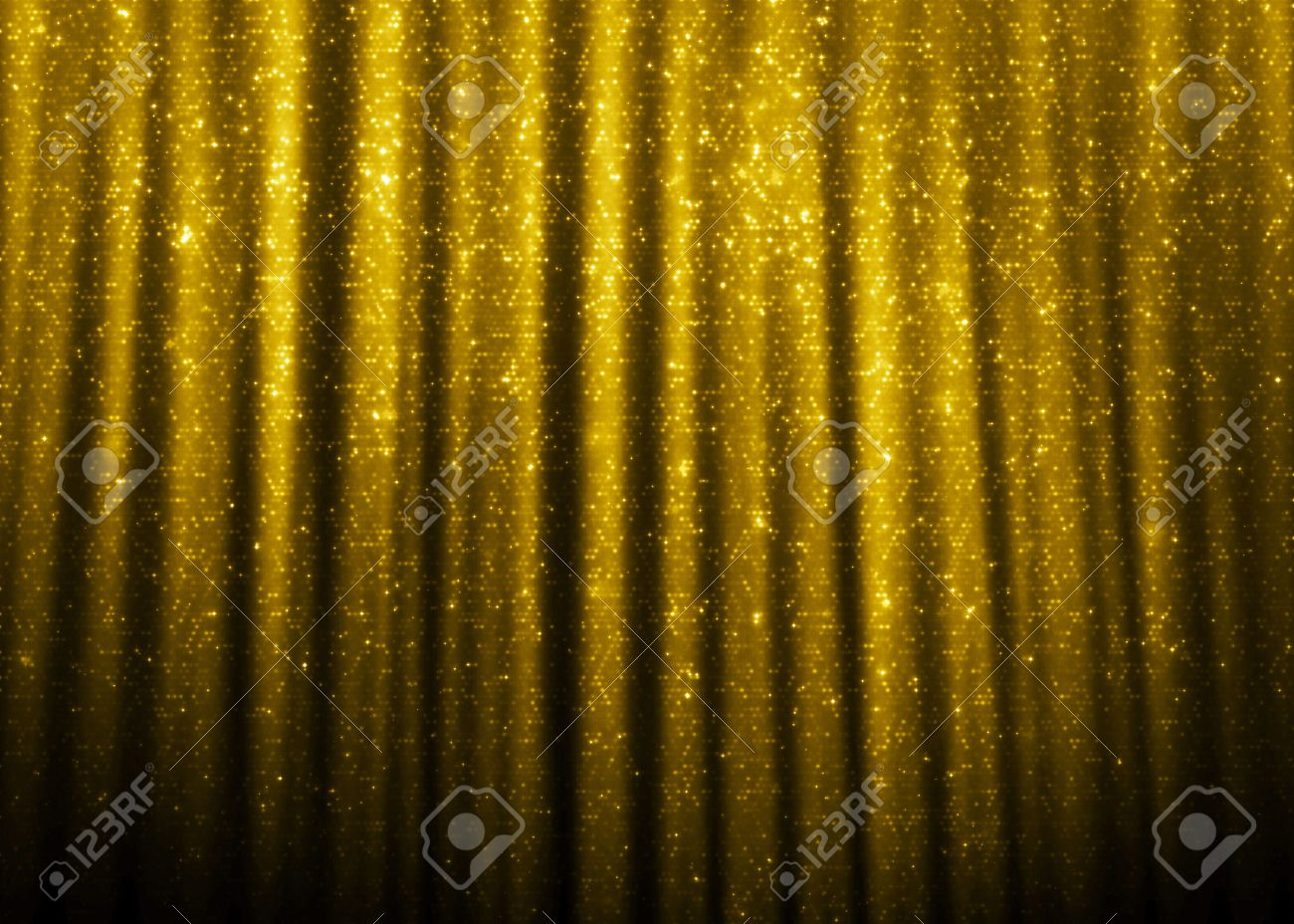 Curtains texture gold - Gold Sparkle Glitter Curtains Background Stock Photo 46953904