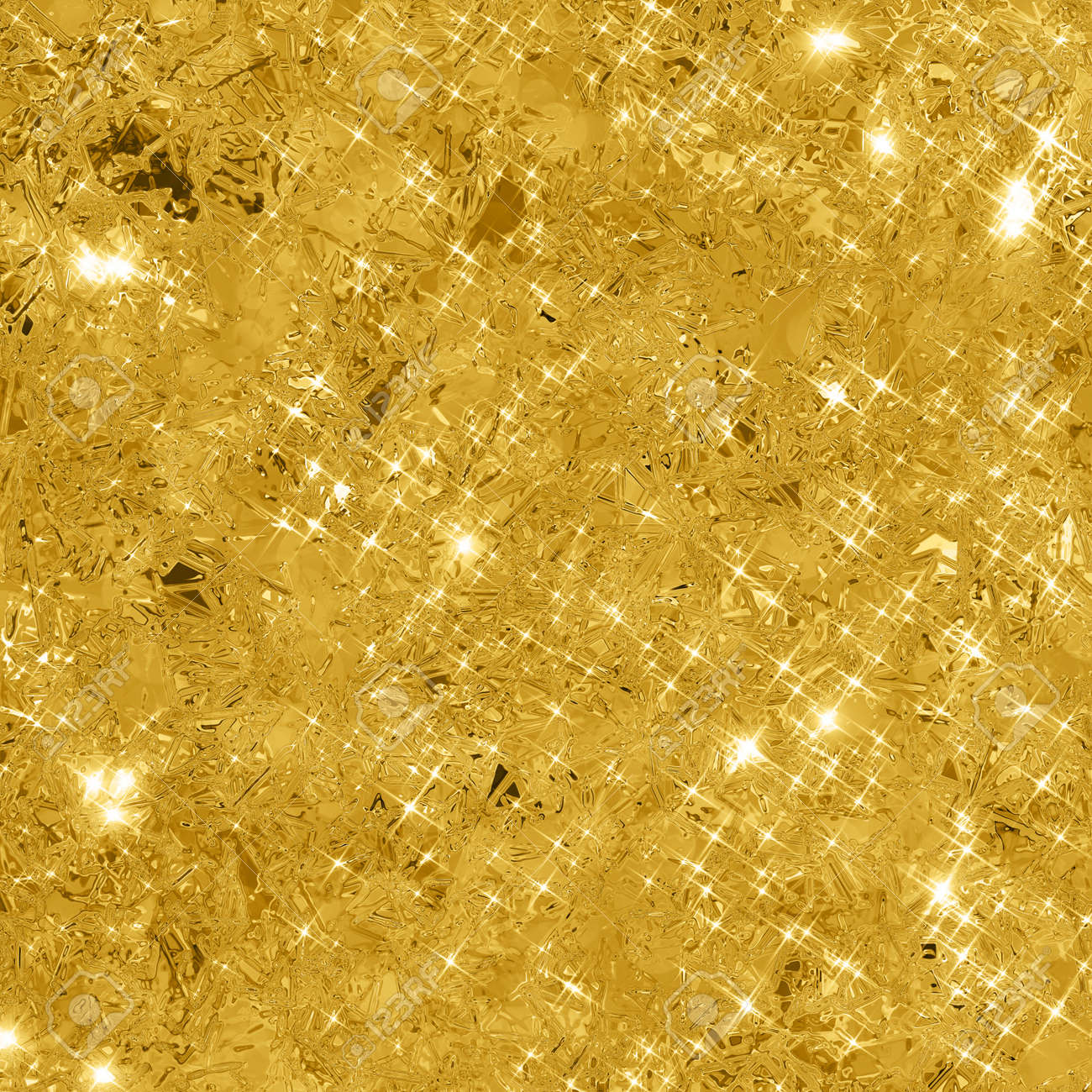 Abstract Gold Background With Copy Space Glitter Glittering Texture Stock