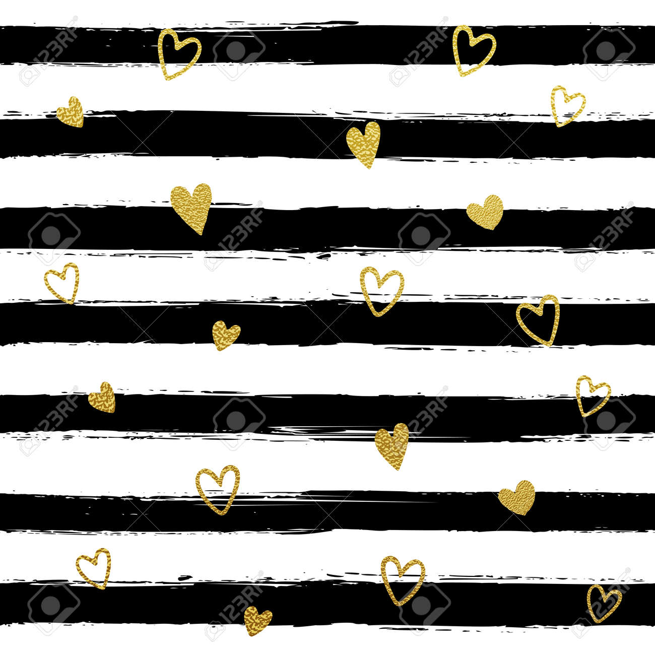 Glitter Gold Striped Wallpaper Paint Brush Strokes Background Royalty Free Cliparts Vectors And Stock Illustration Image 57341519