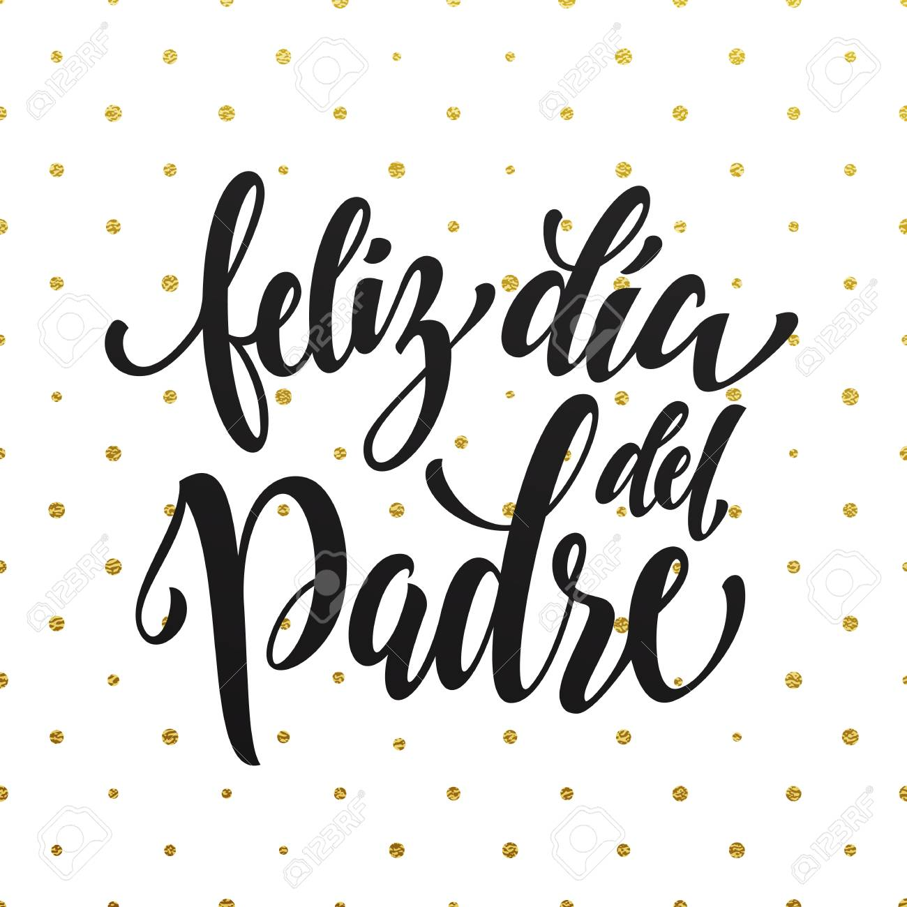 Feliz dia del padre spanish father day greeting card text fathers spanish father day greeting card text fathers day gold glitter m4hsunfo
