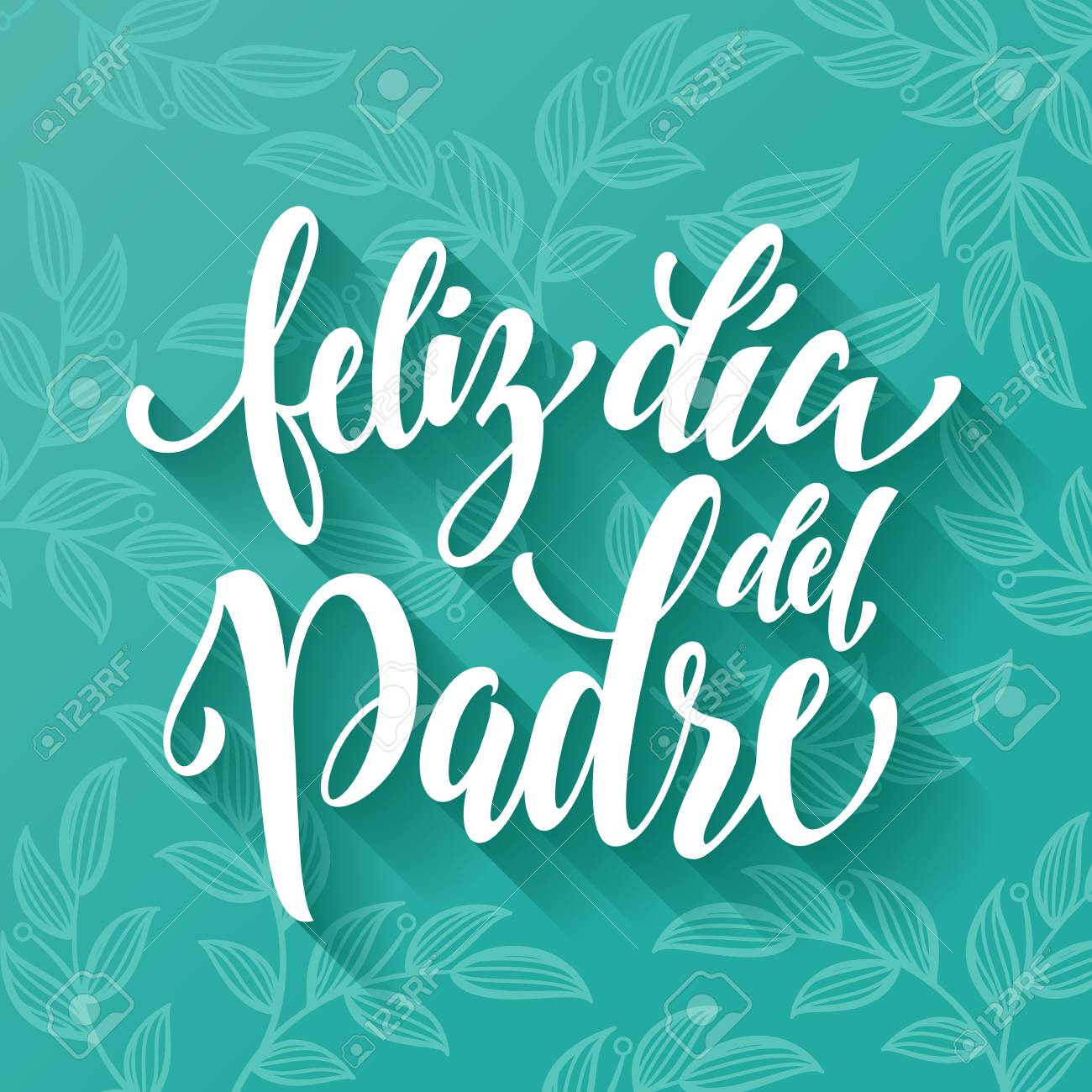 Feliz dia del padre spanish father day lettering for greeting spanish father day lettering for greeting card fathers day hand m4hsunfo