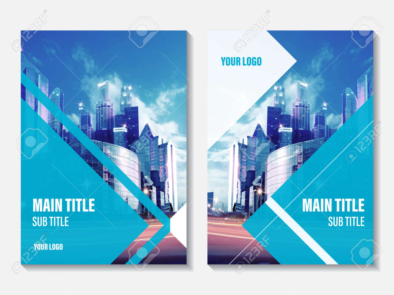 corporate business template for leaflet brochure and flyer business booklet for catalog website advertising and presentation