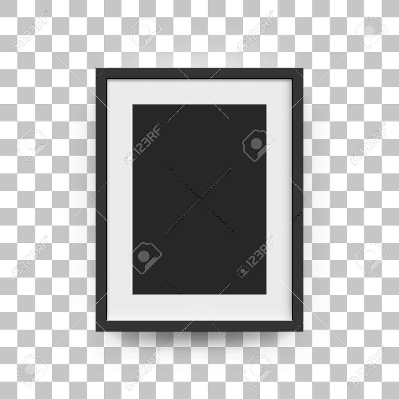 Bilderrahmen Für Fotos. Vector Realitätsnahe Papier Oder Kunststoff ...