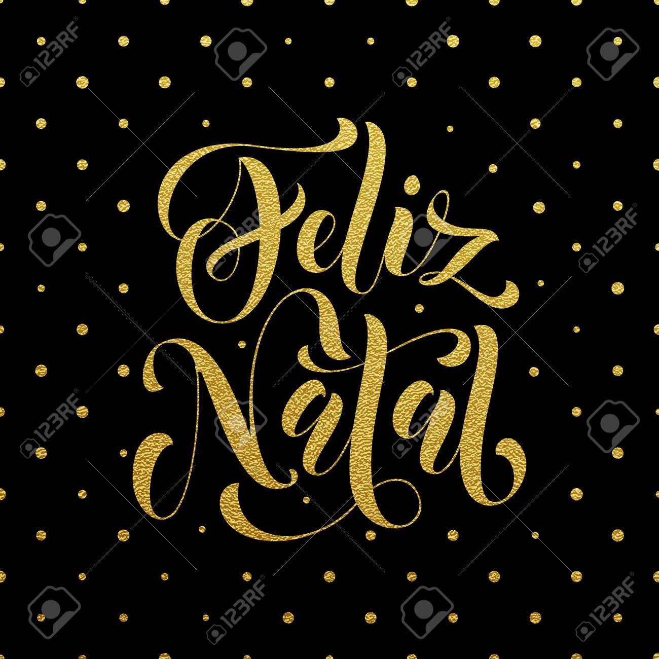 Feliz natal gold glitter greeting for portuguese brazilian ano feliz natal gold glitter greeting for portuguese brazilian ano novo merry christmas xmas m4hsunfo