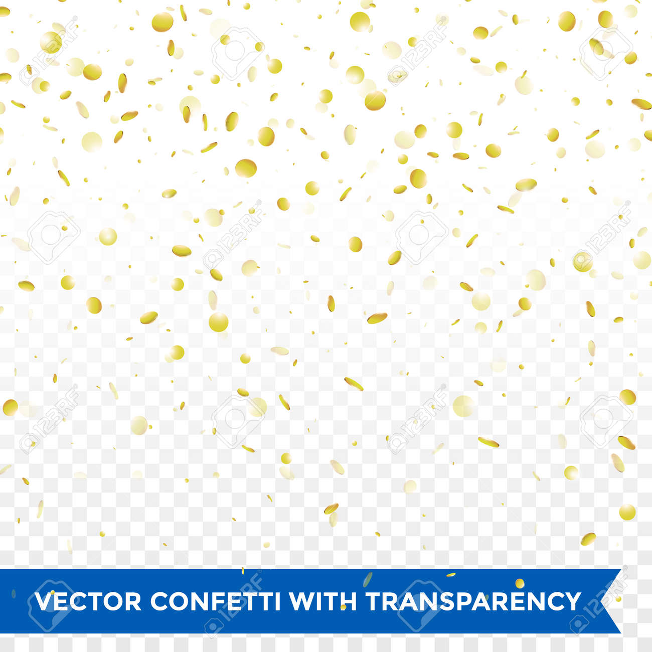 Confetti background vector golden confetti background - Gold Confetti Rain Festive Holiday Background Vector Golden Paper Foil Sequins Falling Down Isolated On