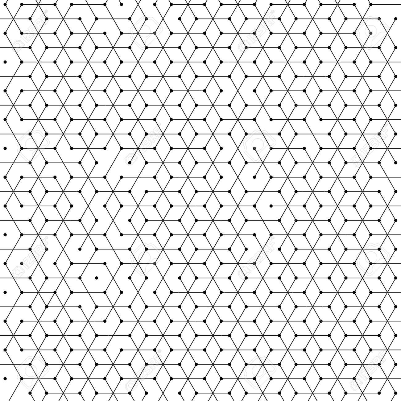 Células Hexagonales Fondo Del Patrón De Malla Geométrica Del ...