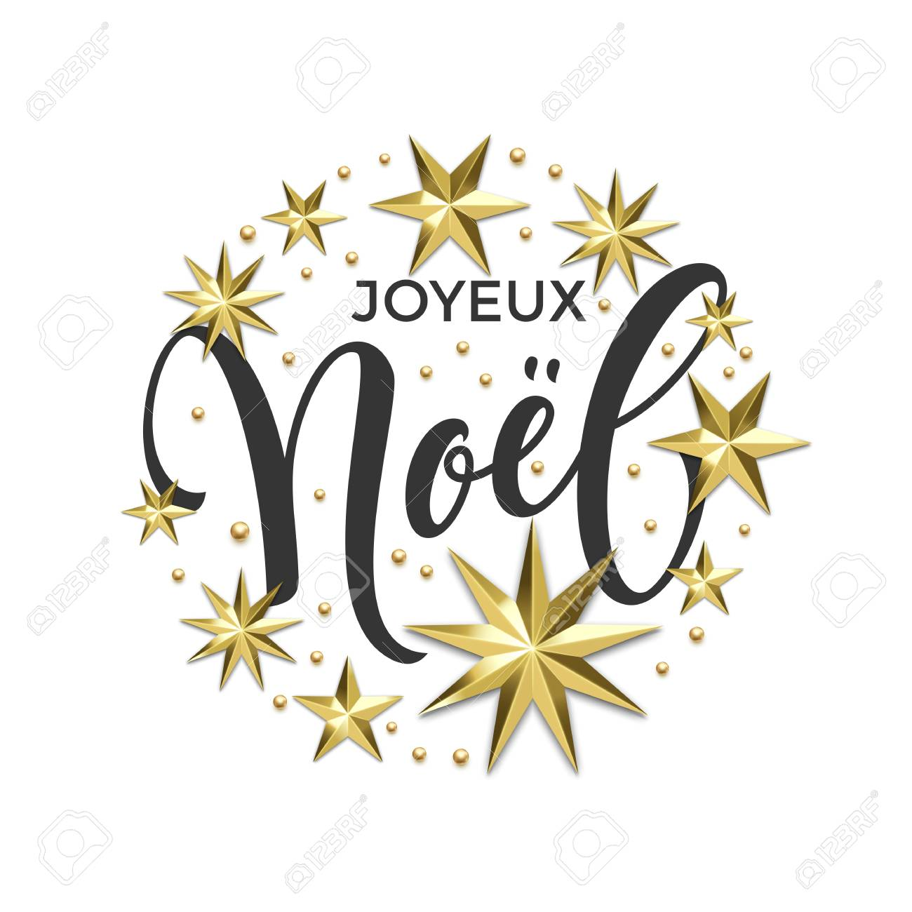 Joyeux noel french merry christmas golden decoration calligraphy joyeux noel french merry christmas golden decoration calligraphy font for invitation or greeting card white stopboris Gallery