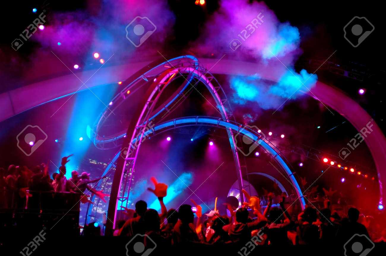 Concert lighting Stock Photo - 296121