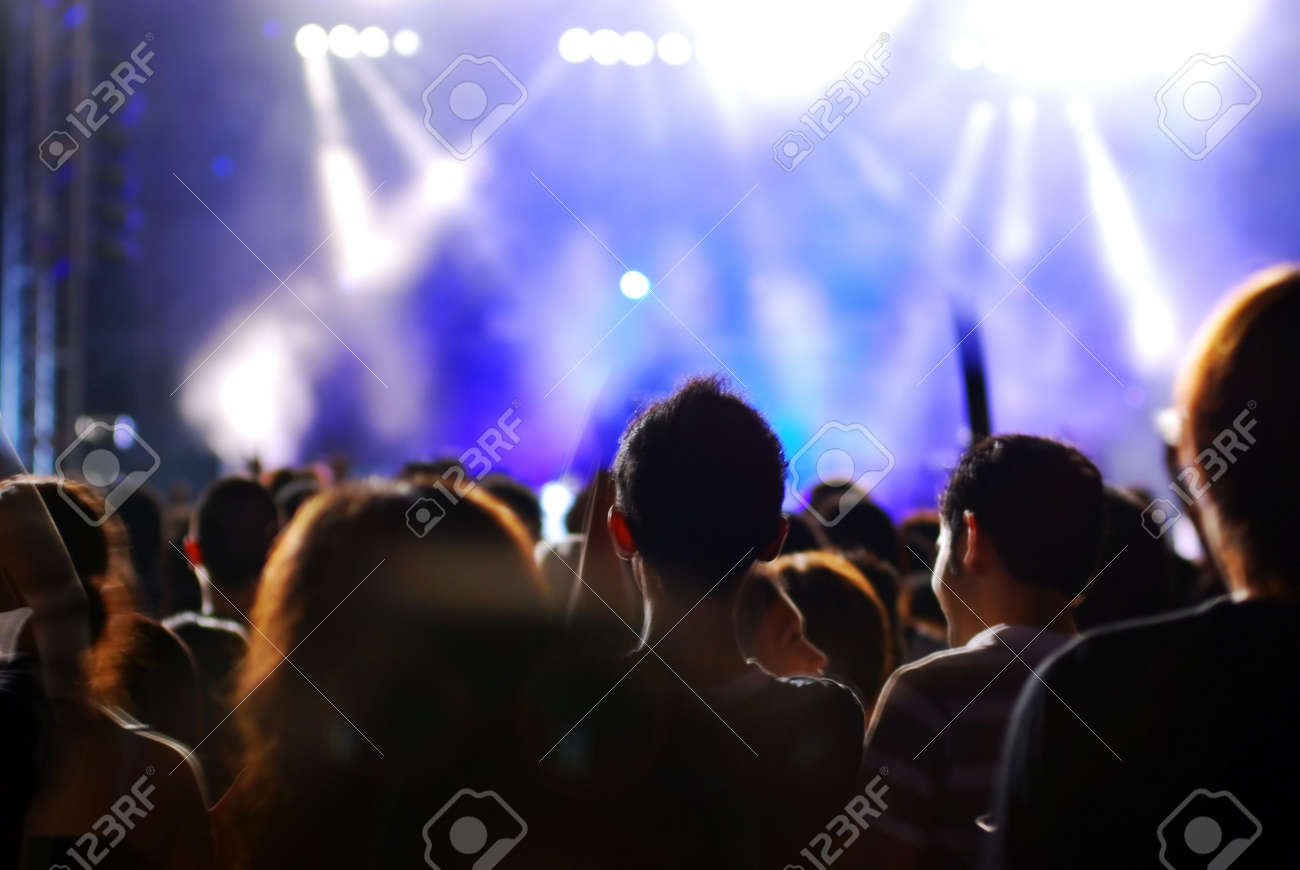 Crowd at the concert Stock Photo - 886027