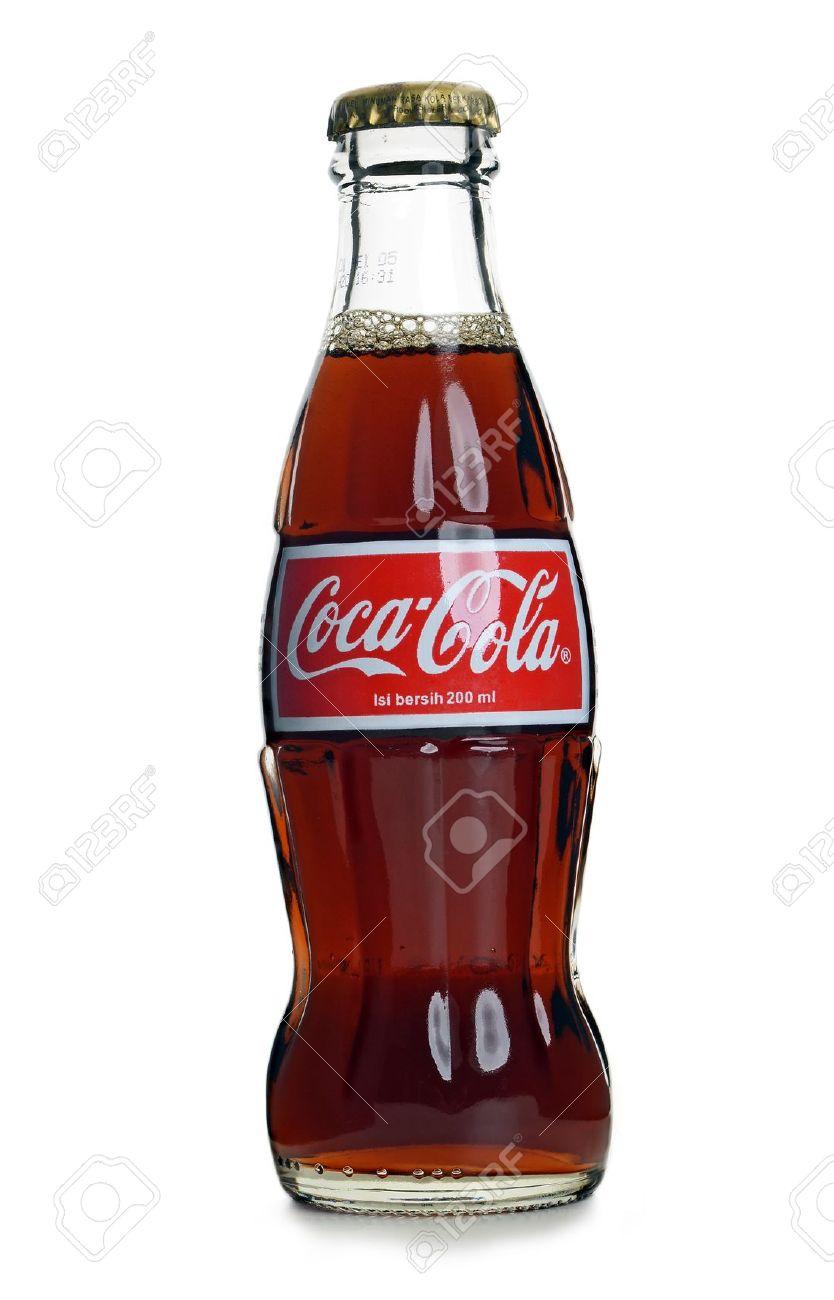 Kuala Lumpur, Malaysia - May, 22 2012: Coca Cola Coke bottle on white background Stock Photo - 13744439