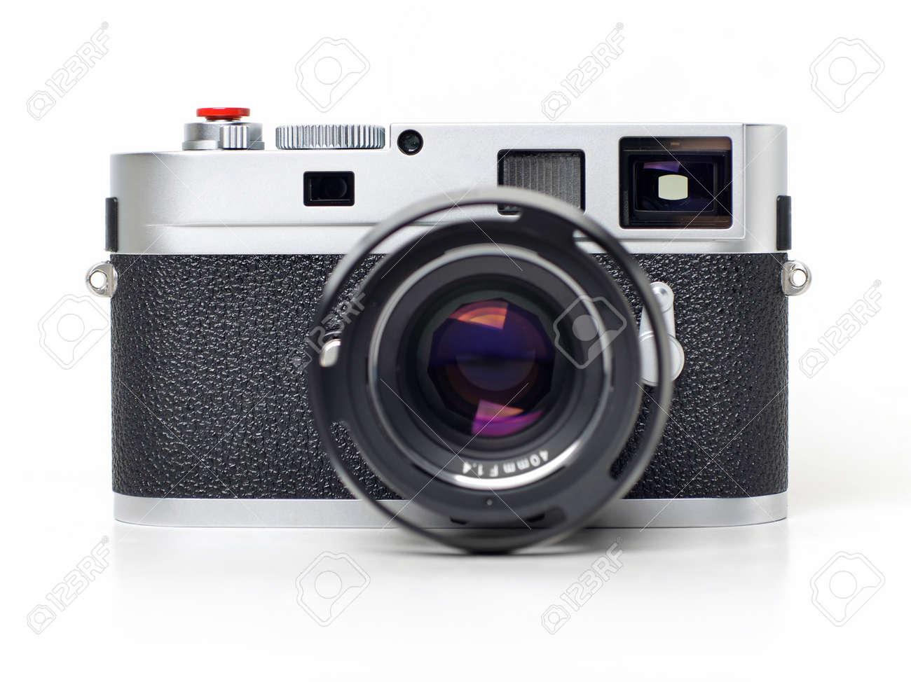 Entfernungsmesser Für Fotografie : Entfernungsmesser kamera auf weißem hintergrund lizenzfreie fotos