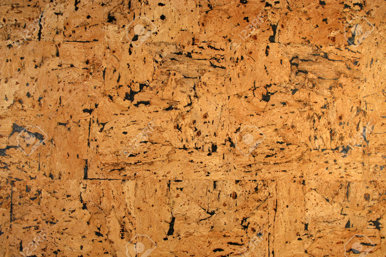 Close-up of cork pin/message board Stock Photo - 1367094