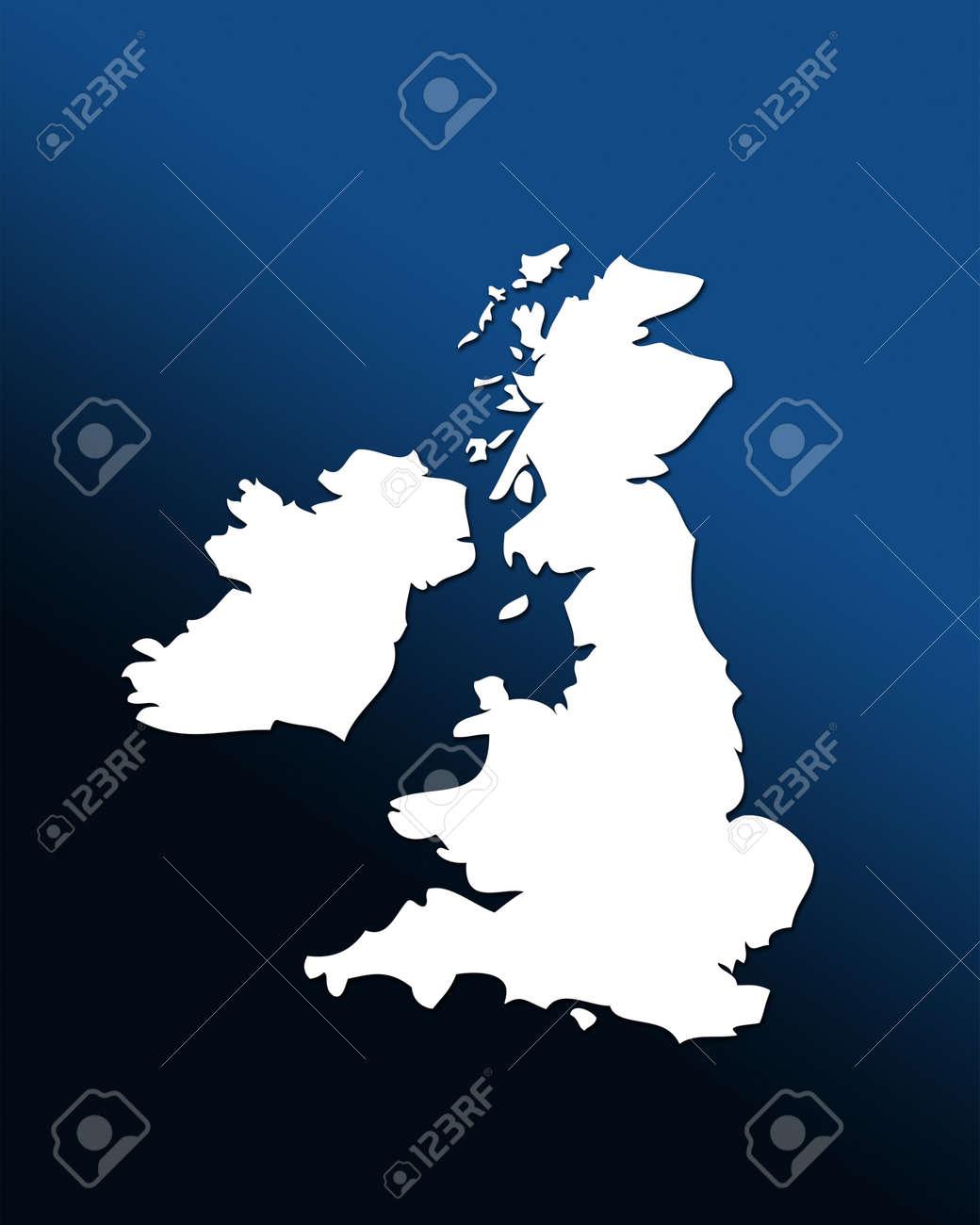 Cartina Gran Bretagna Bianco E Nero.Immagini Stock Cartina Muta Del Regno Unito Bianco Su Blu Sfondo Nero E Laureato Image 12057011