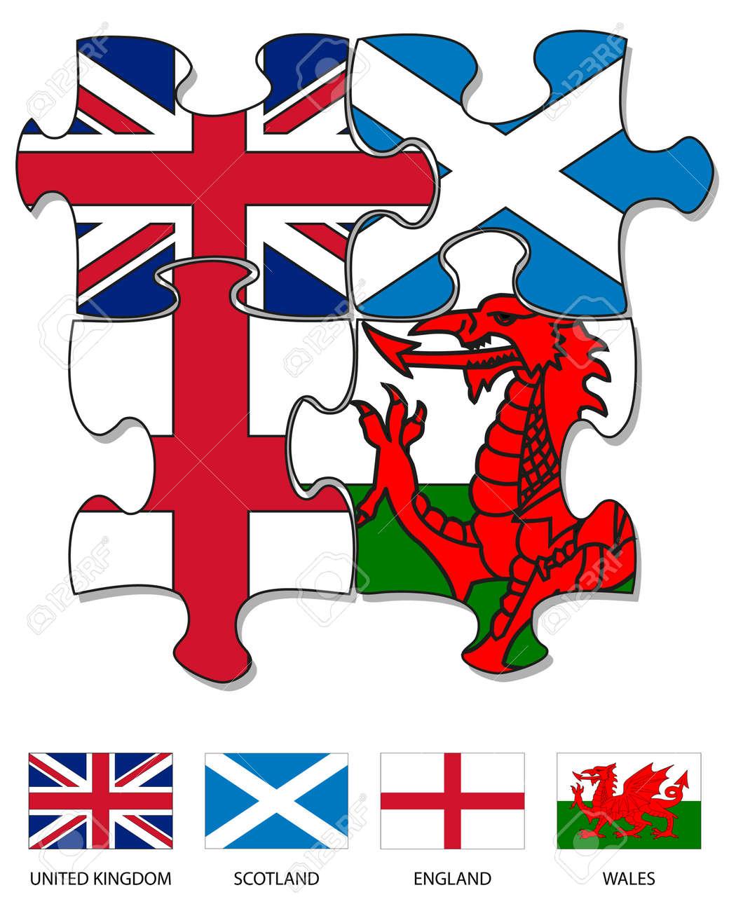 Magnífico Bandera De Reino Unido Para Colorear Bandera - Enmarcado ...
