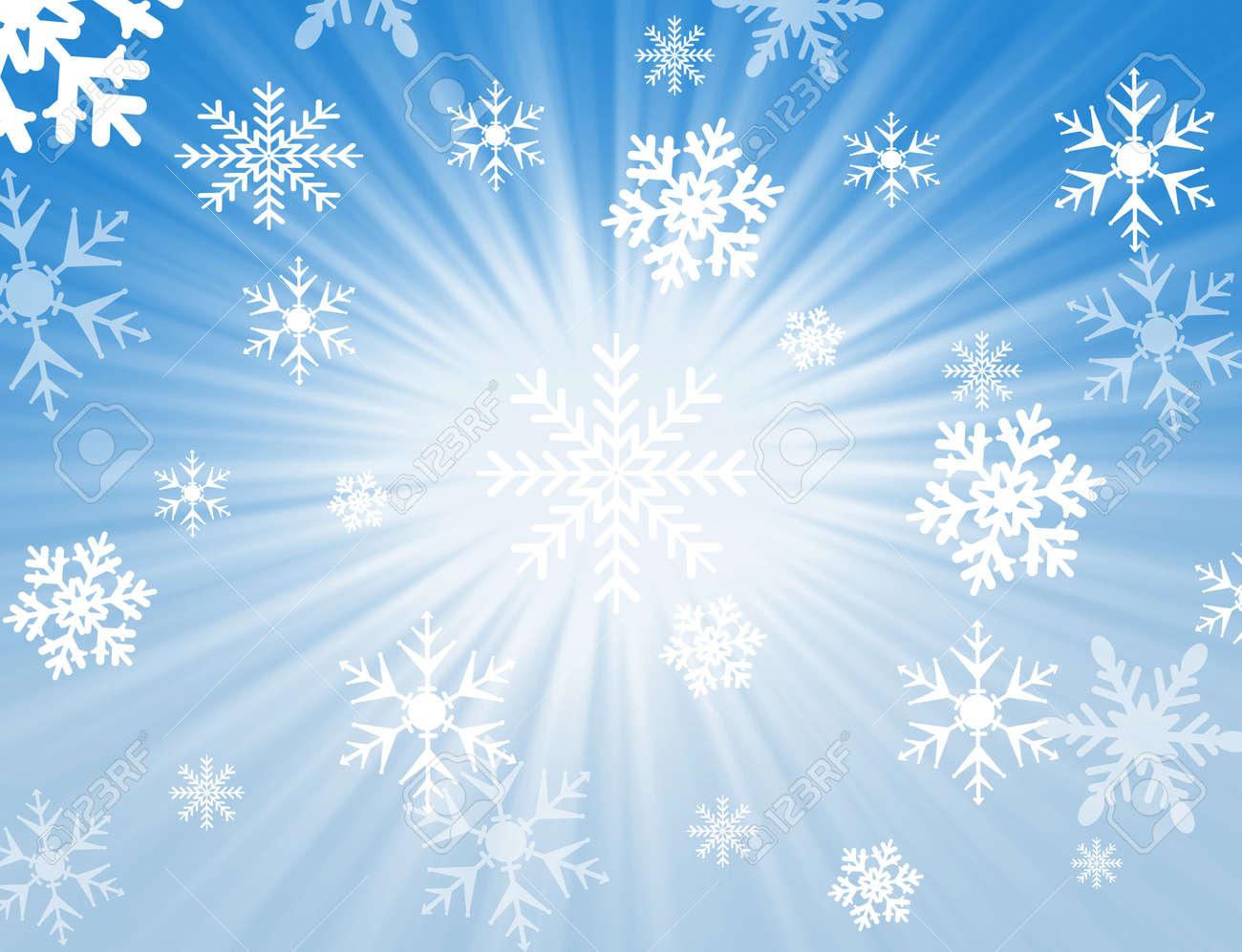 Weihnachten Schneeflocke Design Für Hintergründe Und Füllt ...