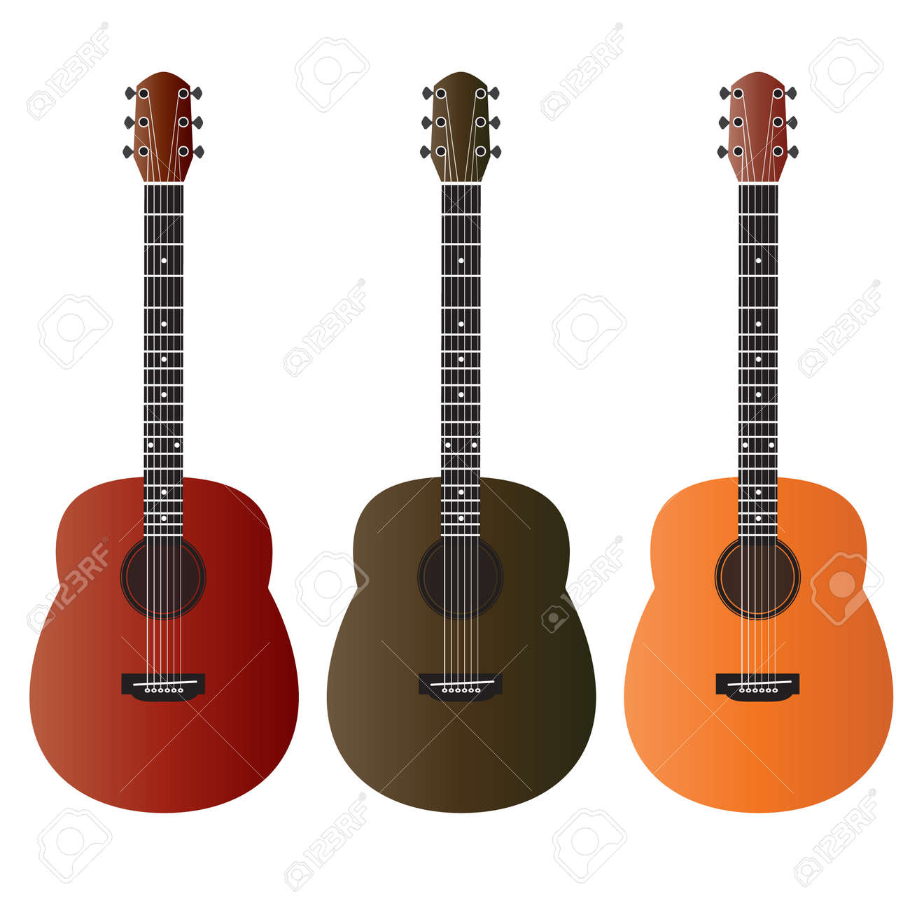 acoustic guitar vector royalty free cliparts vectors and stock rh 123rf com acoustic guitar vector free download acoustic guitar vector outline