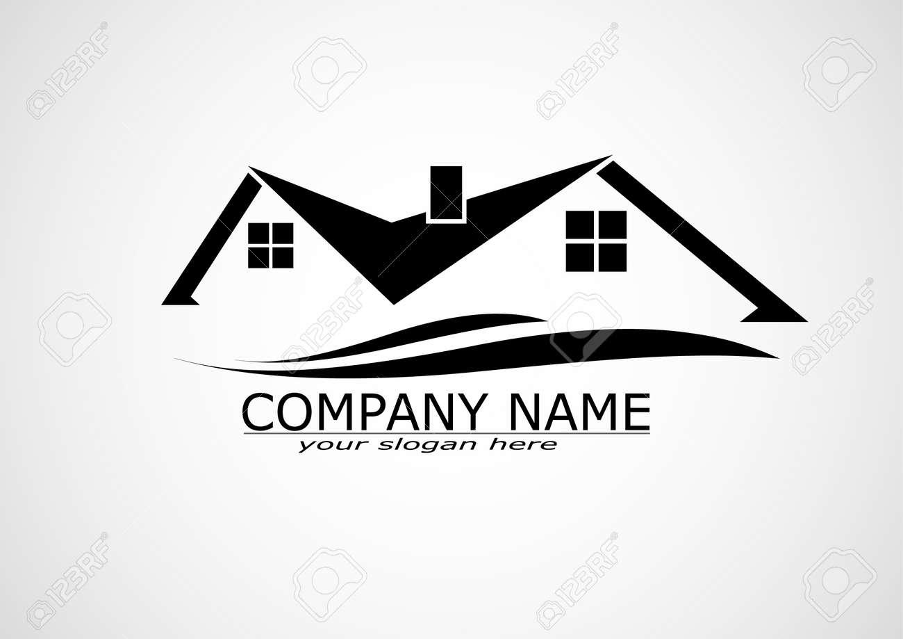 House Real Estate logo or icon design Stock Vector - 41729610