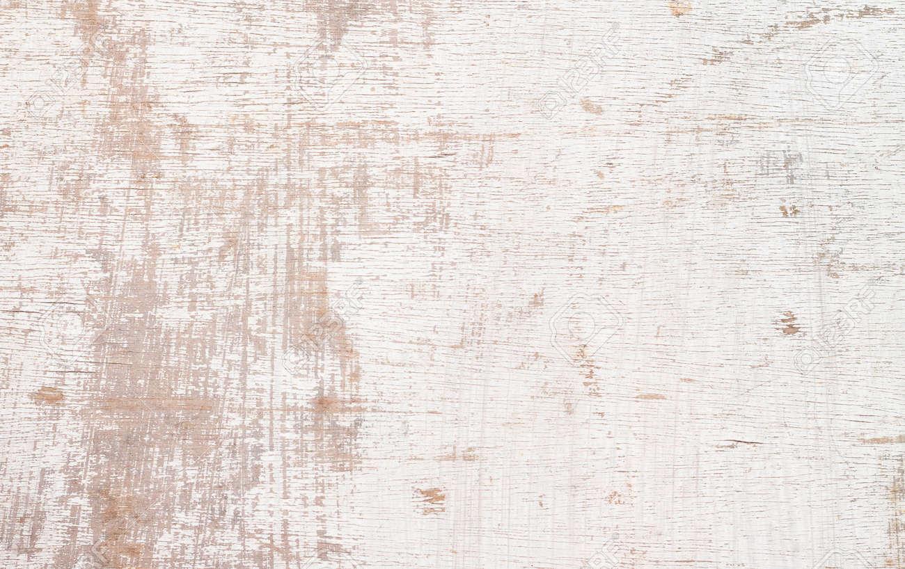 Texture de bois blanc patiné bois peint blanc gros plan bureau