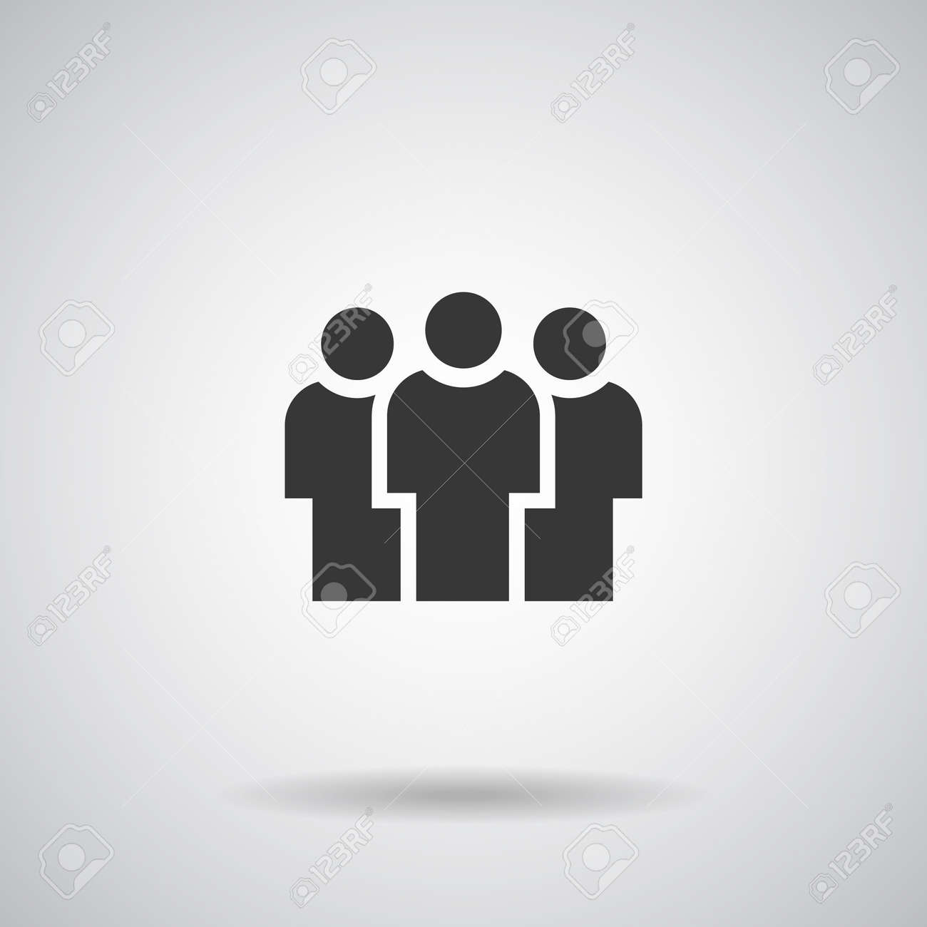 People Icons, Person work group Team Vector - 134588484