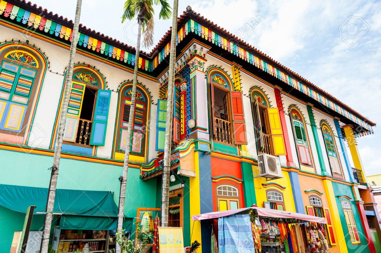 Colorful House the colorful house of tan teng niah in singapore's little india