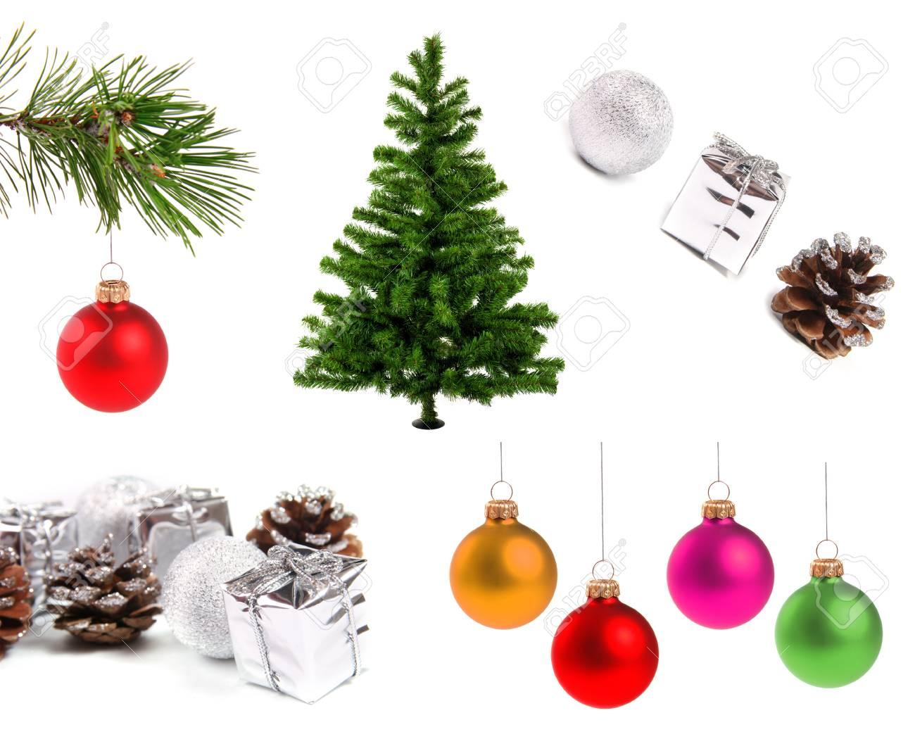 Oggetti Di Natale.Varieta Di Oggetti Di Decorazione Di Natale