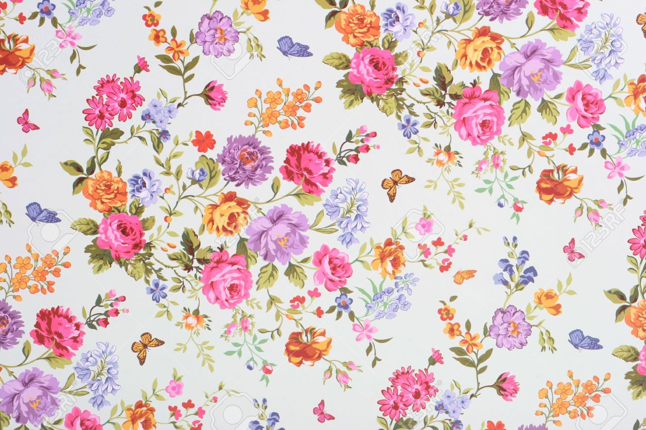 Floral Background Stock Photo Picture And Royalty Free Image