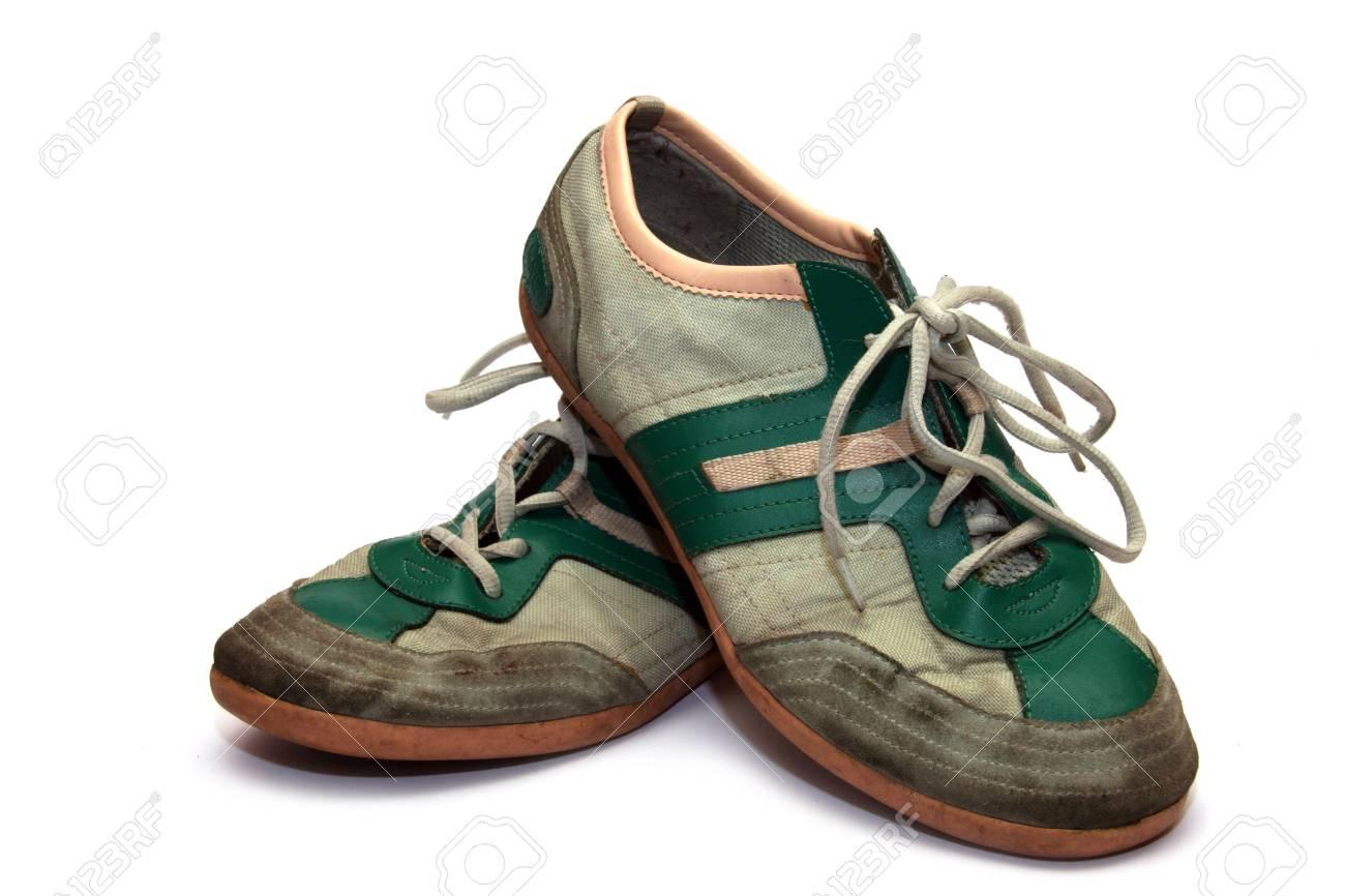 Retro sneakers Stock Photo - 11359603