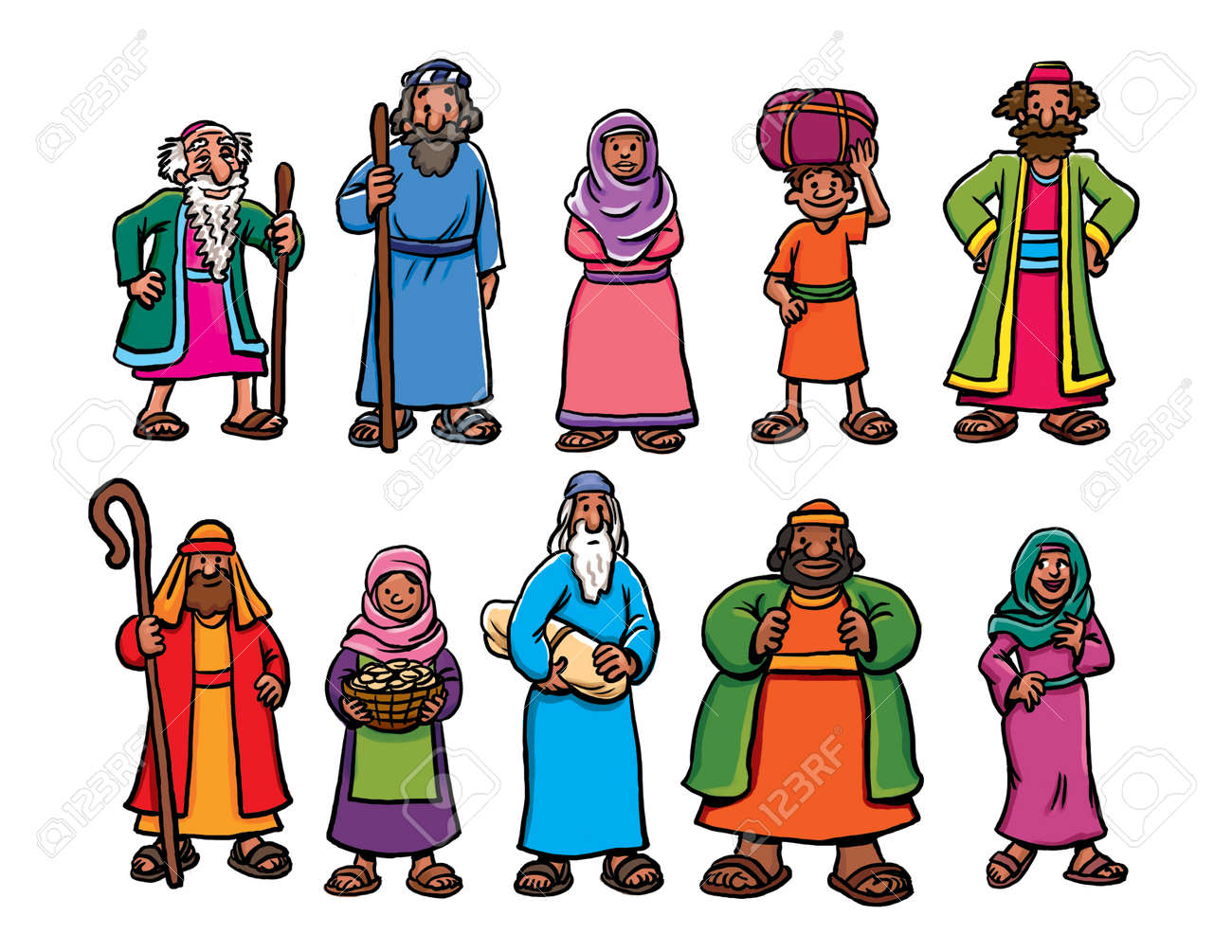 bible characters pictures cartoon bible characters