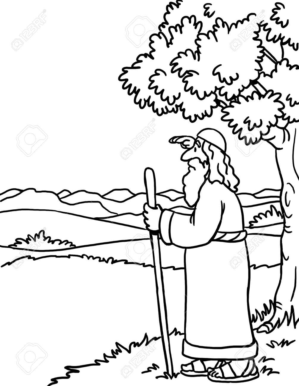 77 Top Coloring Pages For Biblical Character  Images