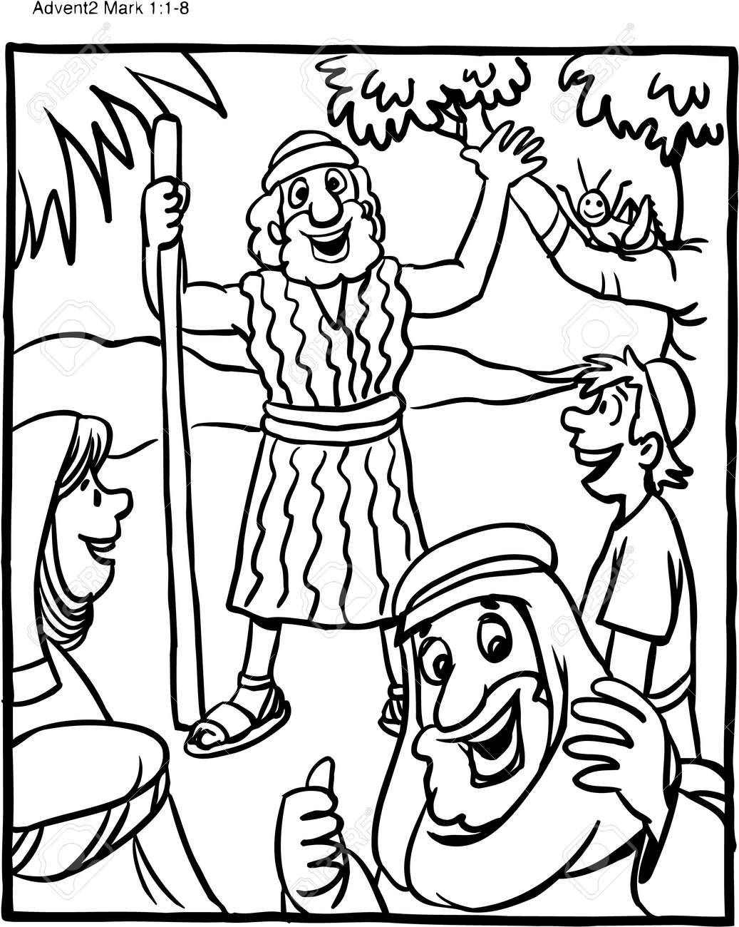 Puerto Rico Coloring Page New Saint John the Baptist Coloring ... | 1300x1036