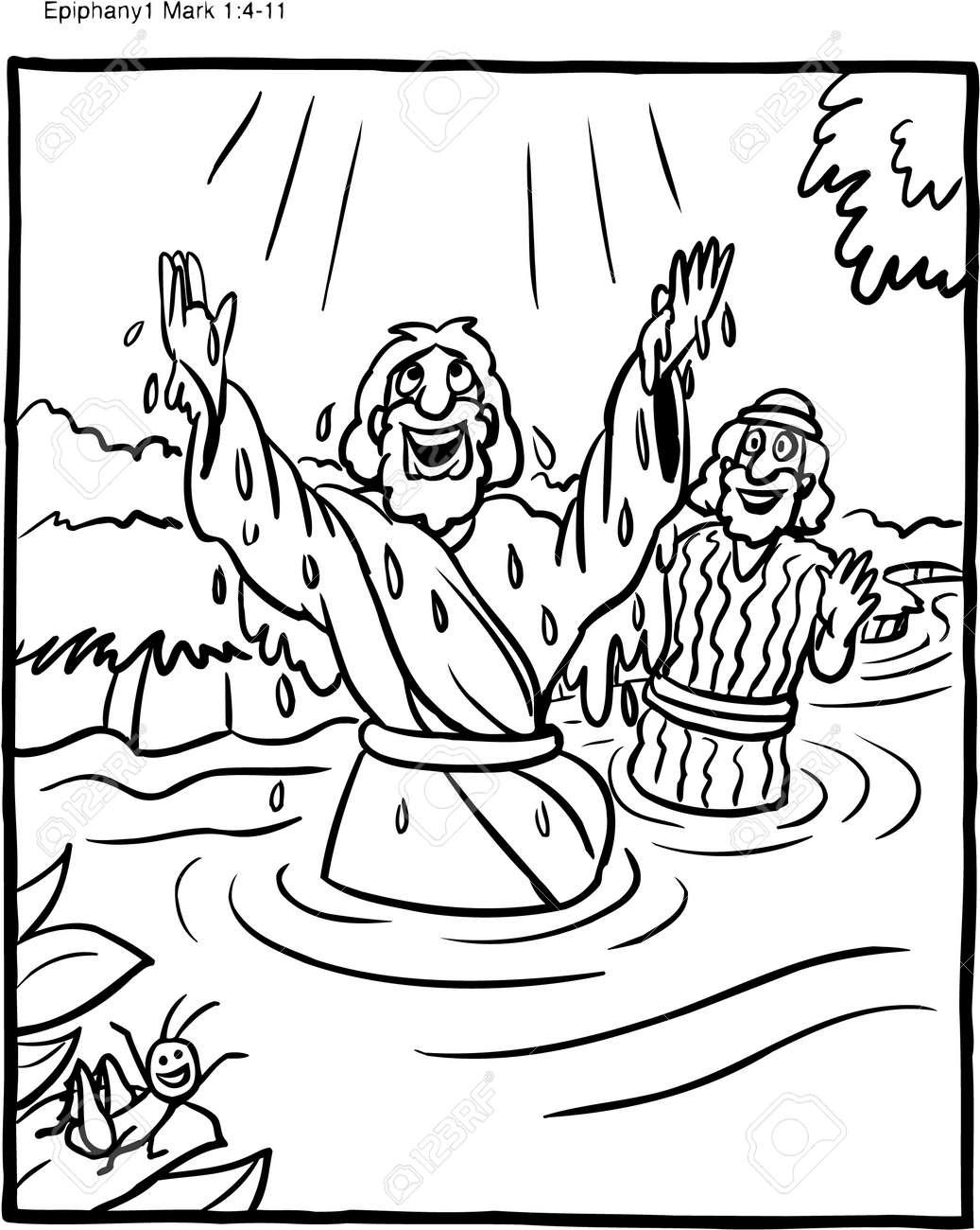 Epiphany - Catholic Coloring Pages - The Catholic Kid | 1300x1036